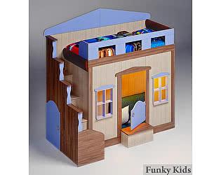 Купить кровать Фанки Кидз чердак Хоум-1 (с окошками)