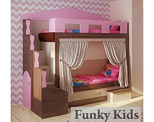 Купить кровать Фанки Кидз Хоум-2 двухъярусная
