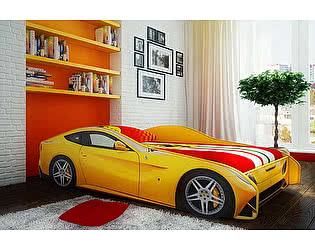 Купить кровать Фанки Кидз машина Феррари Ф-12+4 колеса