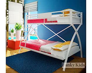 Купить кровать Фанки Кидз Лофт-4 двухъярусная