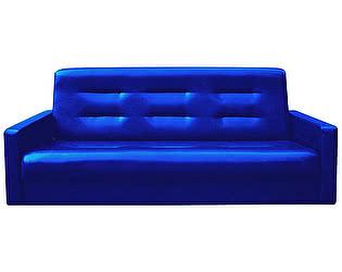 Купить диван FotoDivan книжка АККОРД 140 синий пружинный