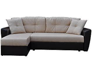 Купить диван FotoDivan угловой Амстердам рогожка серая 150