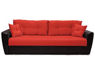 Купить диван FotoDivan еврокнижка Амстердам 150 рогожка красная