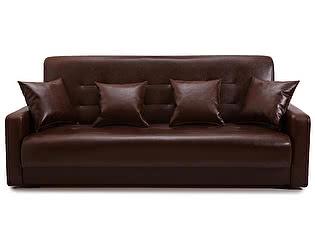 Купить диван FotoDivan книжка АККОРД 140 коричневый пружинный