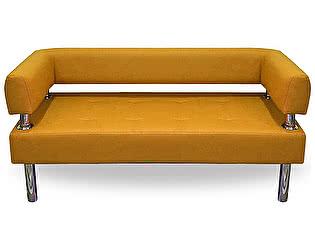 Купить диван FotoDivan Business 1600х800 экокожа (оранжевый)