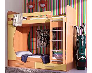 Купить кровать Гармония Карлсон Дуэт 1 двухъярусная