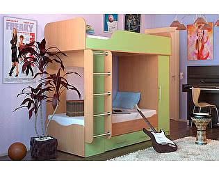 Купить кровать Гармония Карлсон Дуэт 2 двухъярусная