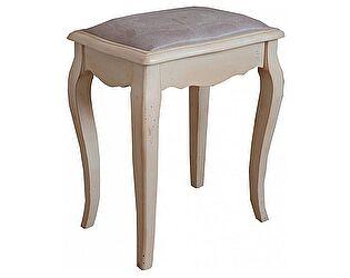 Купить табурет Mobilier de Maison с мягким сиденьем Belveder Blanc bonbon, ST9313