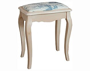 Купить табурет Mobilier de Maison с мягким сиденьем Belveder Blanc bonbon, ST9313 A
