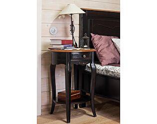 Купить тумбу Mobilier de Maison прикроватная (овальная) Belveder Saphir Noir, ST 9131N