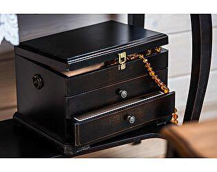Купить аксессуар Mobilier de Maison Набор макияжный большой Belveder Saphir Noir, ST 9138N