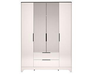 Купить шкаф Ижмебель Танго 4х дверный с ящиком и зеркалом, арт.02