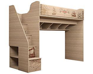 Купить кровать Ижмебель Квест 18 (80) универсальный с лестницей