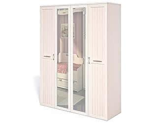 Купить шкаф Интеди Соната 4-х дверный для белья и платья, ИД 01.119