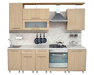 Купить кухню Боровичи-мебель Трапеза Престиж 2300 (МДФ), (II категория)