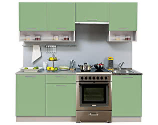 Купить кухню Боровичи-мебель Симпл 2100 с нишей (I категория)