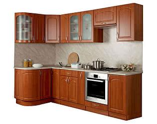 Купить кухню Боровичи-мебель Трапеза 1230х2100 с гнутыми фасадами  (высота шкафов 700)
