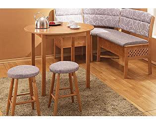 Купить стол Боровичи-мебель обеденный раздвижной с круглой крышкой