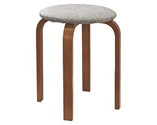Купить табурет Боровичи-мебель гнутая нога мягкая крышка