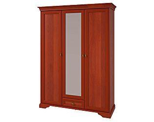 Купить шкаф Корвет 3х дверный с зеркалом ЖК 21, арт 6.2