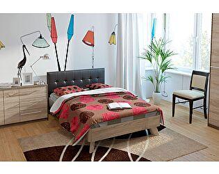 Купить кровать Корвет МДК 4.11 17 (120) спинка мягкая СМ №13