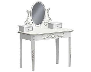 Купить стол La Neige Довиль туалетный столик с зеркалом и ящиками