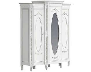 Купить шкаф La Neige Довиль платяной трехстворчатый с зеркалом