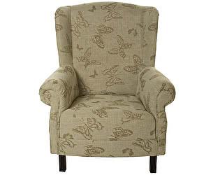 Купить кресло La Neige Бабочки цвета льна