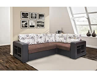 Купить диван М-Стиль Хилтон угловой