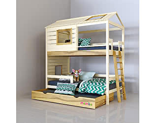 Купить кровать Mamka Твин для двоих детей