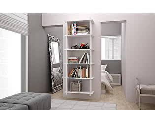 Купить стеллаж MANHATTAN COMFORT Полка-стеллаж Gisborne 2.0 white