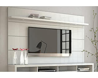 Купить полку MANHATTAN COMFORT Horizon 2.2 white gloss