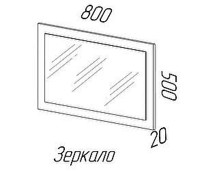 Купить зеркало Эра Ника (З500)