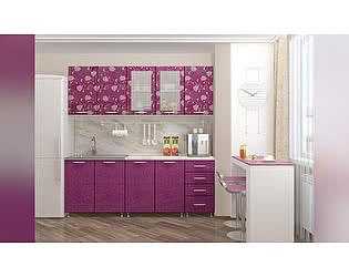 Купить кухню Миф Техно, азалия фиолетовая, 2000