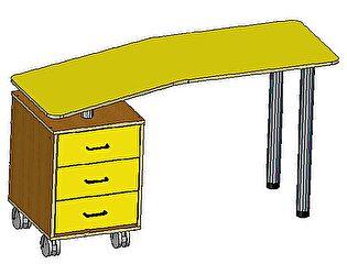 Купить стол Русская Мебельная Компания Тандем 2 с тумбой
