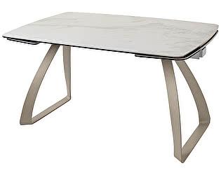 Купить стол M-City ECLIPSE 137 мрамор HT-031