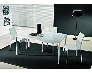 Купить стол M-City LEO (42.52)160/210/260х90хН75 см (М310/M310/С196 гл.ст в цв.антр/L045 антр)