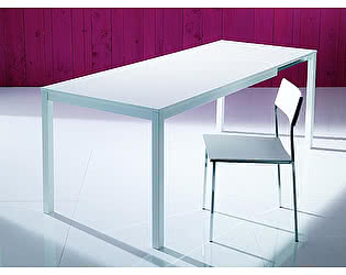 Купить стол M-City MAGO (01.34) 100/140х70хН75 см (М089/ M089/ С181 сер-кор.мат ст+L072алюм.)