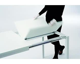 Купить стол M-City MAGO (01.35) 120/180х80хН75 см (М089/M089/Top grey stone Uni D003+L072ал)