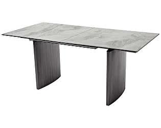 Купить стол M-City METEOR 180 CERAMIC керамика на стекле