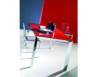 Купить стол M-City SIRIO (42,38G) 110/150х75хН75 см (G093 LEGS/ M089 FRAME/C152 черн глянц ст)