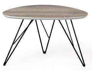 Купить стол M-City WOOD84 No.4 дуб серо-коричневый винтажный