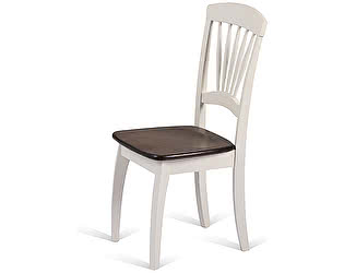 Купить стул M-City JIN D-2092 CREAM+WALNUT WOODEN SEAT