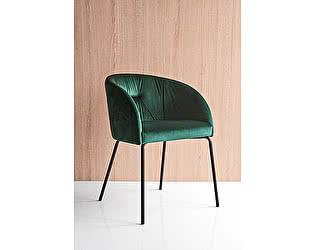 Купить кресло M-City ROSIE SOFT CB/1910, BCH P132 GRAPHITE/ VENICE S0H FOREST GREEN