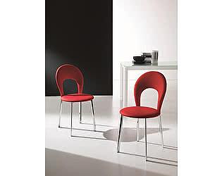 Купить стул M-City VITTORIA 44,52 (G093 хром/ TR504 черная экокожа)