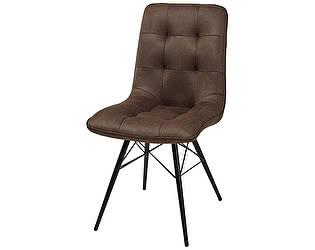 Купить стул M-City VOLF BROWN коричневый нубук M-City