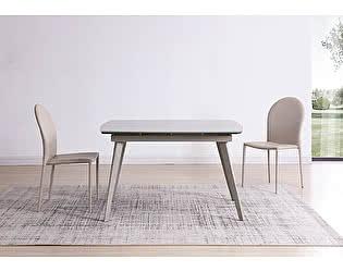Купить стол M-City ELIOT 120 Chinese Marble Ceramic+White