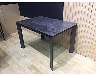 Купить стол M-City CORNER 120 Glazed Glass Volcano Grey+Grey1