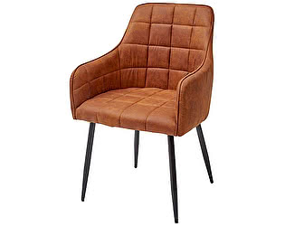 Купить кресло M-City HEIDI коричнево-рыжий винтажный, микрофибра PK-02