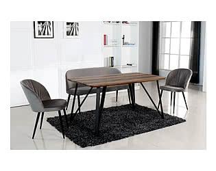 Купить стул M-City RYTHM серый, велюр  G062-38